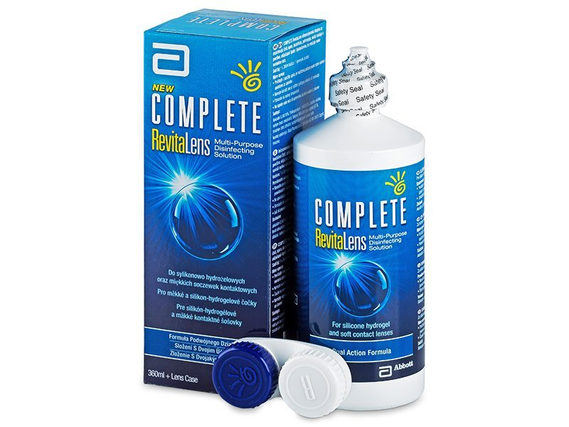 Image of   Complete RevitaLens Linsevæske 360 ml