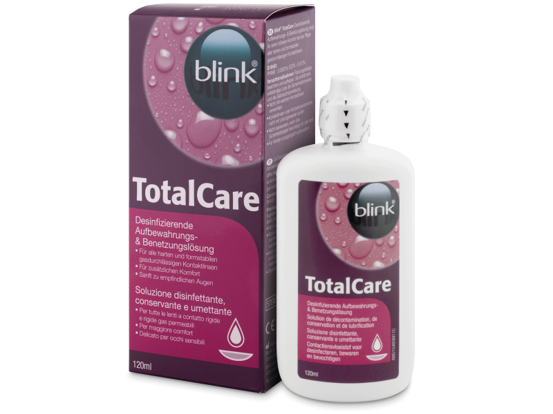 Image of   Total Care linsevæske 120 ml