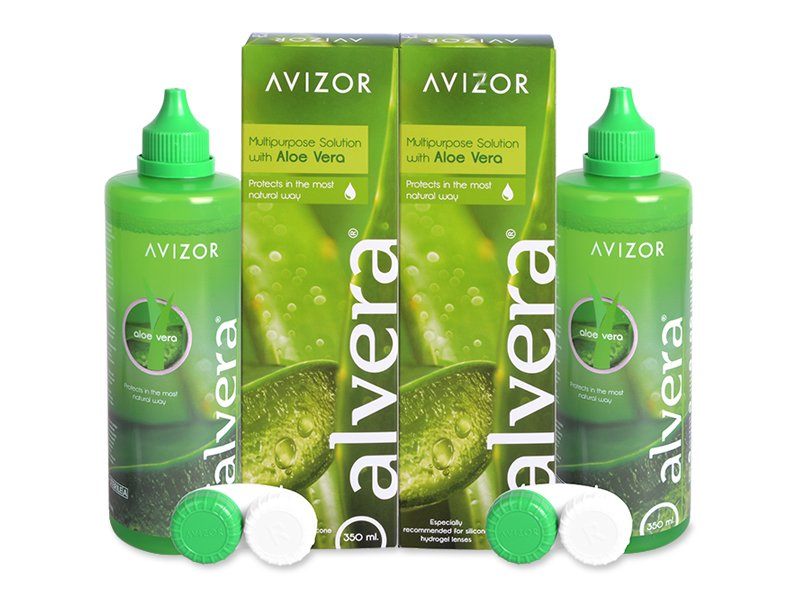 Image of   Alvera Linsevæske 2 x 350 ml