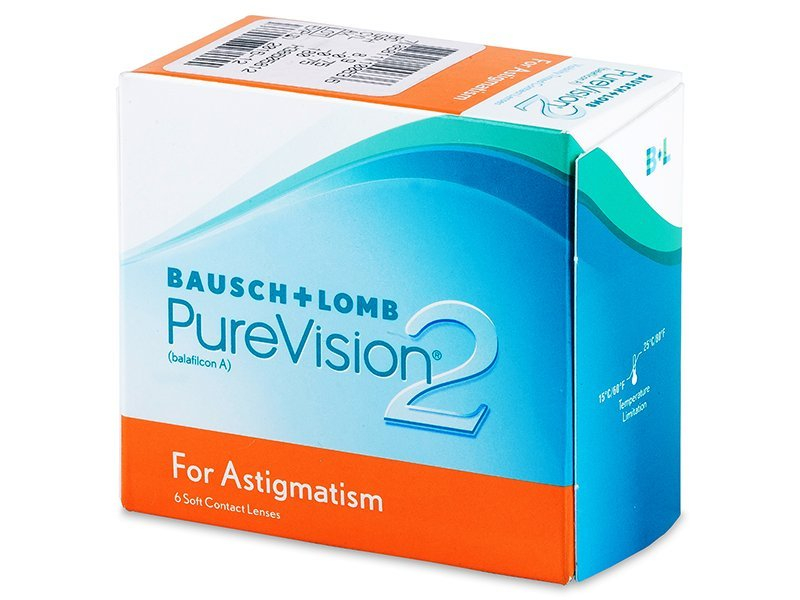 Image of   Bausch & Lomb PureVision 2 HD for Astigmatism 6-pack