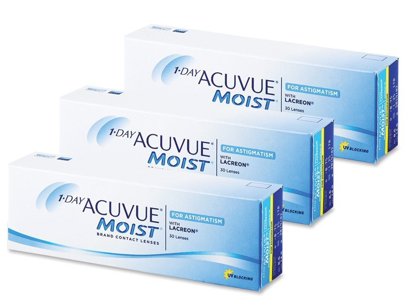 Image of 1 Day Acuvue Moist for Astigmatism (90 linser)