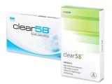alensa.dk - Kontaktlinser - Clear 58