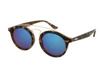 alensa.dk - Kontaktlinser - Alensa Børnesolbriller Panto Havana Blå Spejl