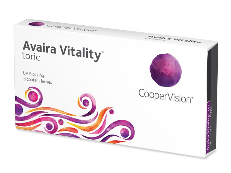 Image of   Avaira Vitality Toric (3 linser)