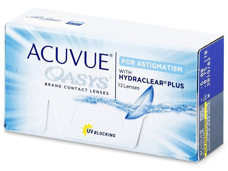 Image of   Acuvue Oasys for Astigmatism (12 linser)