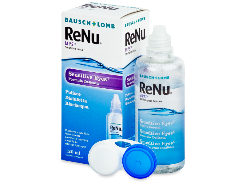 Image of   ReNu MPS Sensitive Eyes 120 ml linsevæske