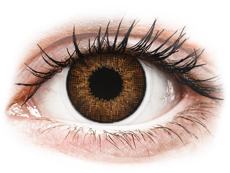 Image of   Air Optix Colors - Brown - uden styrke (2 linser)