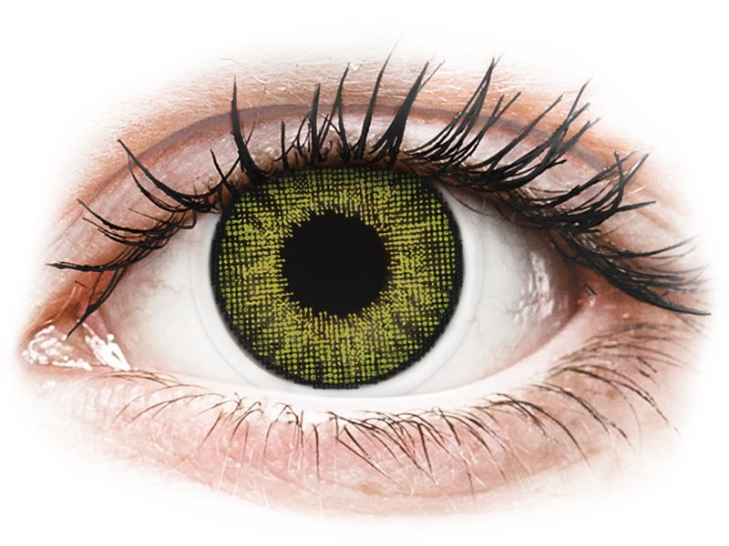 Image of Air Optix Colors - Gemstone Green - med styrke (2 linser)