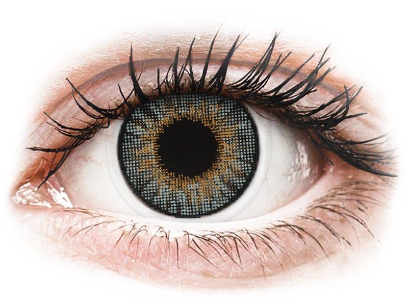 Image of Air Optix Colors - Grey - med styrke (2 linser)