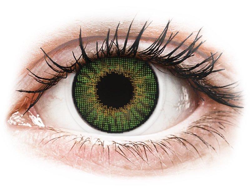 Image of Air Optix Colors - Green - med styrke (2 linser)