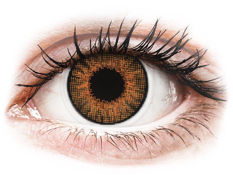 Image of Air Optix Colors - Honey - med styrke (2 linser)