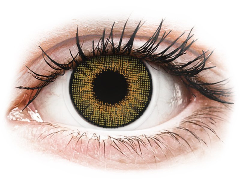 Image of   Air Optix Colors - Pure Hazel - med styrke (2 linser)