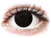 alensa.dk - Kontaktlinser - ColourVUE Crazy Lens - BlackOut - uden styrke