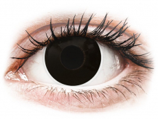 ColourVUE Crazy Lens - BlackOut - uden styrke (2 linser)