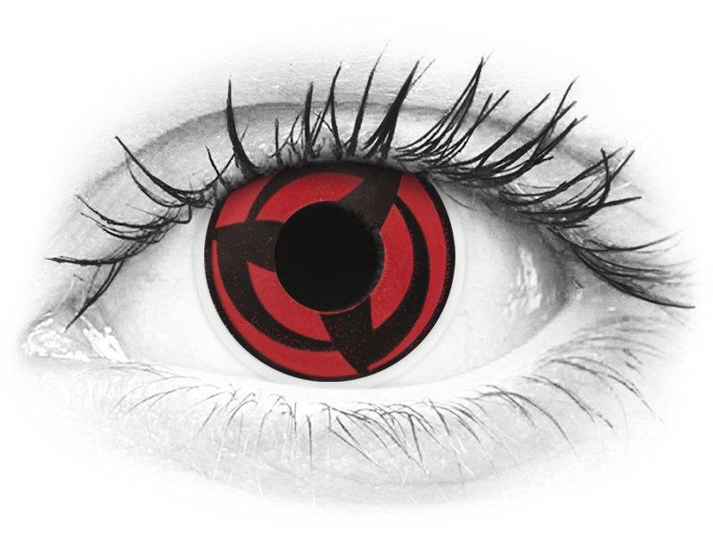 ColourVUE Crazy Lens - Kakashi - uden styrke (2 linser)