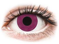 alensa.dk - Kontaktlinser - ColourVUE Crazy Lens - Purple - uden styrke