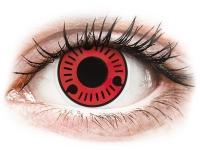 alensa.dk - Kontaktlinser - ColourVUE Crazy Lens - Sasuke - uden styrke