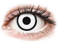 alensa.dk - Kontaktlinser - ColourVUE Crazy Lens - White Zombie - uden styrke