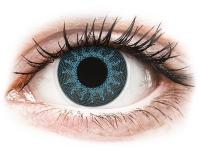 alensa.dk - Kontaktlinser - ColourVUE Crazy Lens - Solar Blue - med styrke