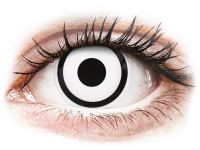 alensa.dk - Kontaktlinser - ColourVUE Crazy Lens - White Zombie - med styrke