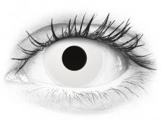 ColourVUE Crazy Lens - WhiteOut - med styrke (2 linser)