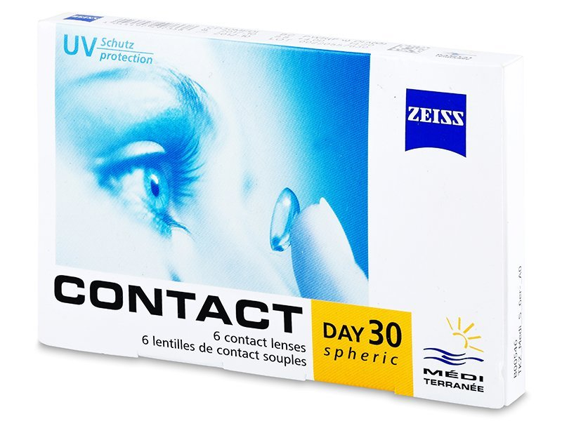 Image of   Carl Zeiss Contact Day 30 Spheric (6 linser)