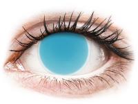 alensa.dk - Kontaktlinser - ColourVUE Crazy Glow Electric Blue - uden styrke