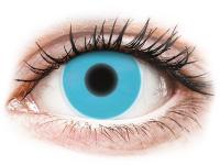 alensa.dk - Kontaktlinser - ColourVUE Crazy Glow Blue - uden styrke