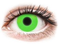 alensa.dk - Kontaktlinser - ColourVUE Crazy Glow Green - uden styrke