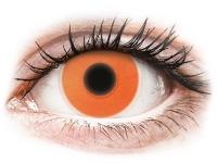 alensa.dk - Kontaktlinser - ColourVUE Crazy Glow Orange - uden styrke
