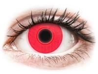 alensa.dk - Kontaktlinser - ColourVUE Crazy Glow Red - uden styrke