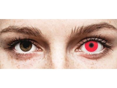 ColourVUE Crazy Glow Red - uden styrke (2linser)