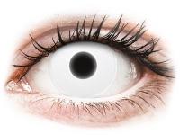 alensa.dk - Kontaktlinser - ColourVUE Crazy Glow White - uden styrke