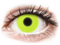 alensa.dk - Kontaktlinser - ColourVUE Crazy Glow Yellow - uden styrke
