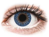 alensa.dk - Kontaktlinser - TopVue Color - True Sapphire - uden styrke
