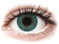 alensa.dk - Kontaktlinser - TopVue Color - Turquoise - uden styrke