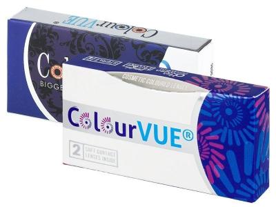 ColourVUE Glamour Aqua - uden styrke (2linser)