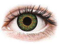 alensa.dk - Kontaktlinser - ColourVUE Glamour Green - med styrke