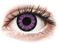 alensa.dk - Kontaktlinser - ColourVUE BigEyes Ultra Violet - uden styrke