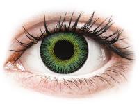 alensa.dk - Kontaktlinser - ColourVUE Fusion Green Yellow - uden styrke