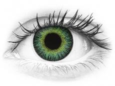 ColourVUE Fusion Green Yellow - uden styrke (2linser)