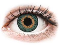 alensa.dk - Kontaktlinser - Expressions Colors Aqua - med styrke