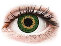 alensa.dk - Kontaktlinser - Expressions Colors Green - uden styrke
