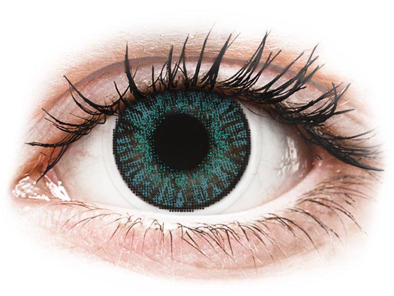Image of FreshLook ColorBlends Brilliant Blue - med styrke (2 linser)
