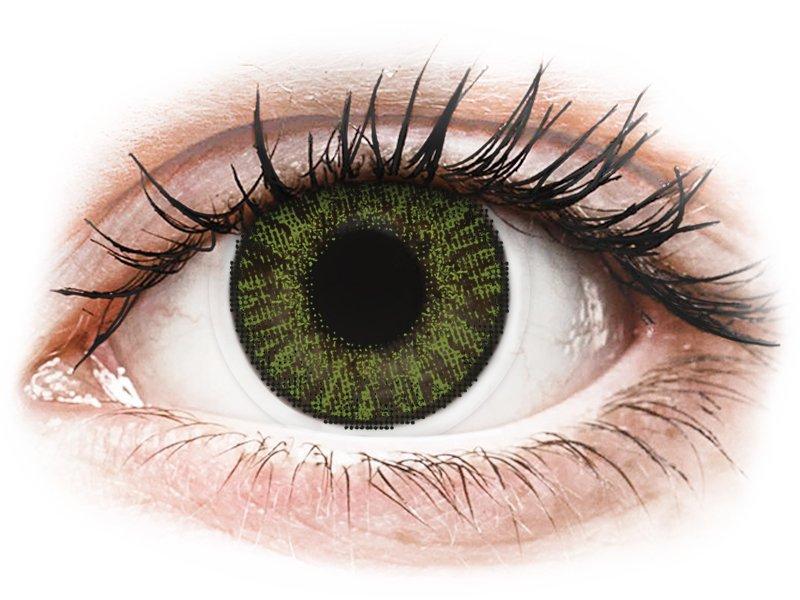 Image of FreshLook ColorBlends Green - med styrke (2 linser)