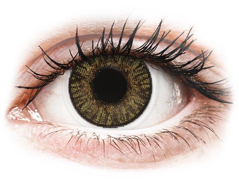 Image of FreshLook ColorBlends Pure Hazel - med styrke (2 linser)