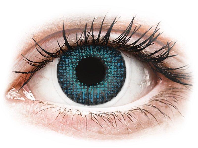 Image of Air Optix Colors - Brilliant Blue - med styrke (2 linser)