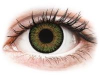alensa.dk - Kontaktlinser - FreshLook One Day Color Green - med styrke