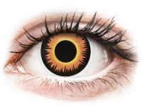 alensa.dk - Kontaktlinser - ColourVUE Crazy Lens - Orange Werewolf - endagslinser uden styrke
