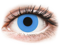 alensa.dk - Kontaktlinser - ColourVUE Crazy Lens - Sky Blue - endagslinser uden styrke